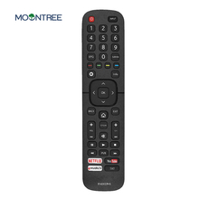 EN2X27HS replacement  remote control for Hisense smart TV with Netflix You Tube 43K300UWTS0100 49K300UWTS 55NEC5200 65K5500UWTS new original remote control for hisense smart tv en2d27