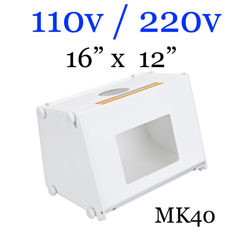 Professional Portable Mini Photo Studio Box Photography Backdrop built-in Light -MK40 40 40cm mini light strips professional portable mini kit photo photography studio led photo light box softbox
