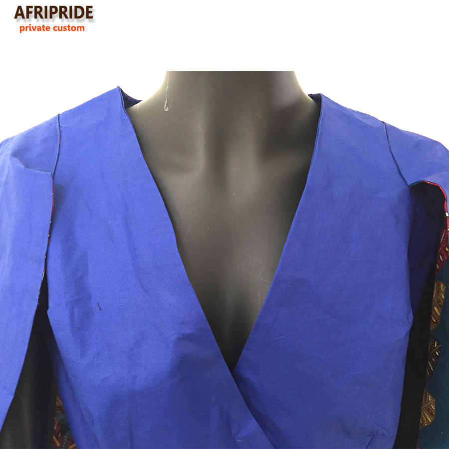 101a07e4c4c34 2017 Summer new african inspired fashion the hottest women clothes cape  blazer COAT knee length colorful pure cotton A722407-in Africa Clothing  from Novelty ...