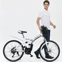 26 inches mountain electric bicycle lithium battery power bicycle folding bicycles instead of walking 350w smart motor  Ebike