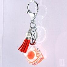 Liga de Zinco de Cristal de vidro Moda Coreana Fivela Acessórios Do Carro chaveiro em lote conjunto da cadeia de moda chave da cadeia de telefone Móvel 19
