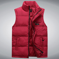 Middle Aged Men S Fall And Winter Down Vest Male Middle Aged Father Loaded Thick Warm