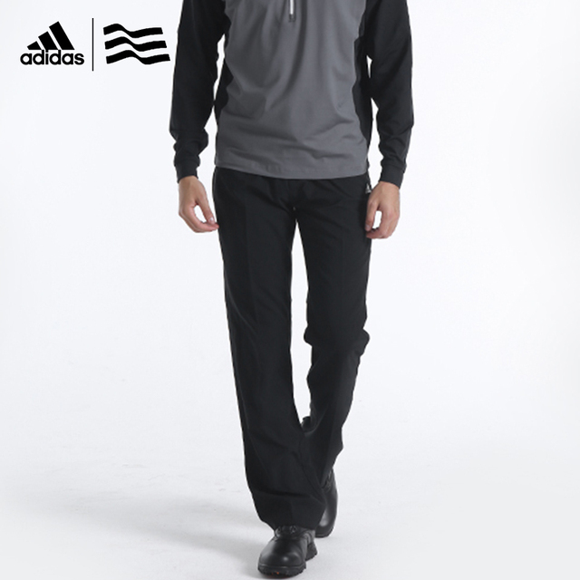 168b0673613d Adidas Men s Golf Trousers Light-weight Smooth Skin-touch Wrinkle  Prolection NEW