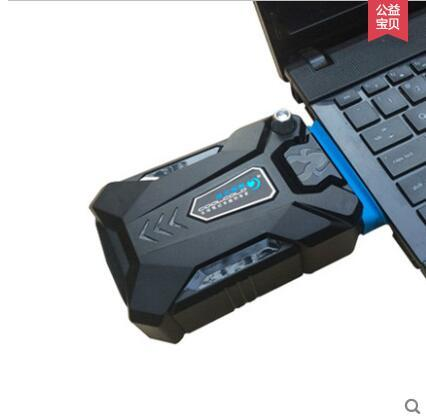 7 lado del radiador downdraught notebook ventosa 15.6 14 portátil ventilador de refrigeración silencioso