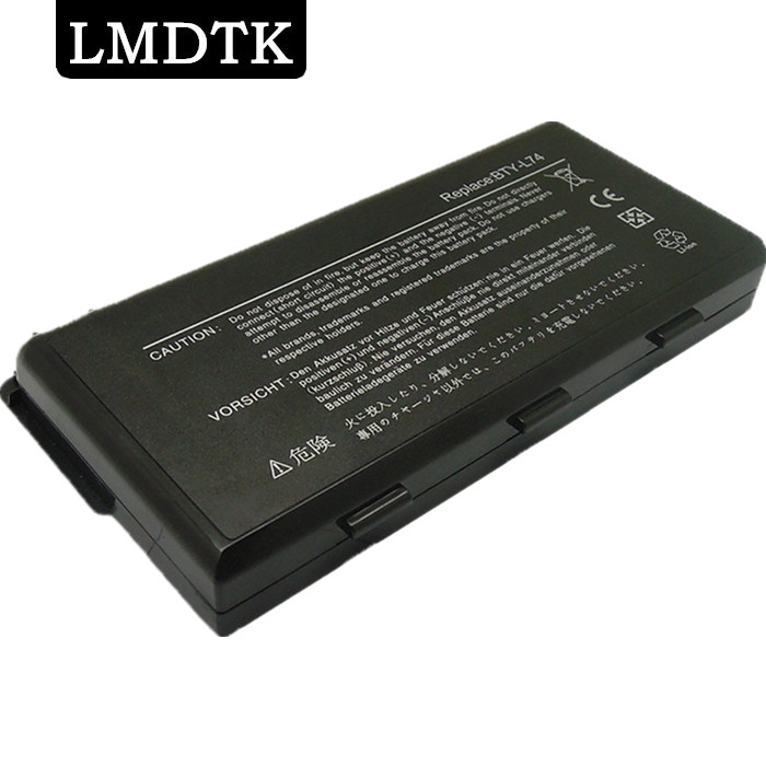 LMDTK New 9CELLS laptop battery BTY-L74 BTY-L75 For <font><b>MSI</b></font> CR630 CR700 CX600 CX600X CX610 CX620 <font><b>CX620MX</b></font> SERIES Free shipping image