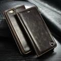 Оригинал CaseMe Марка Case для iPhone SE 6 S 6 Плюс Авто магнит Флип Кожаный Чехол для iPhone 6 S 5S SE Телефоны Аксессуары