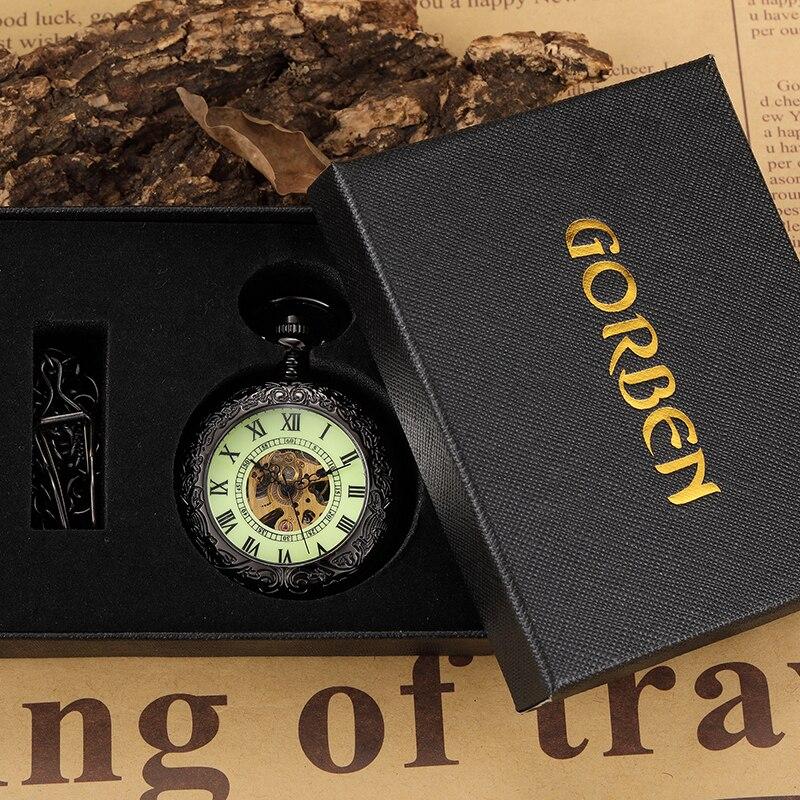 de Bolso do vintage Relógio FOB Cadeia