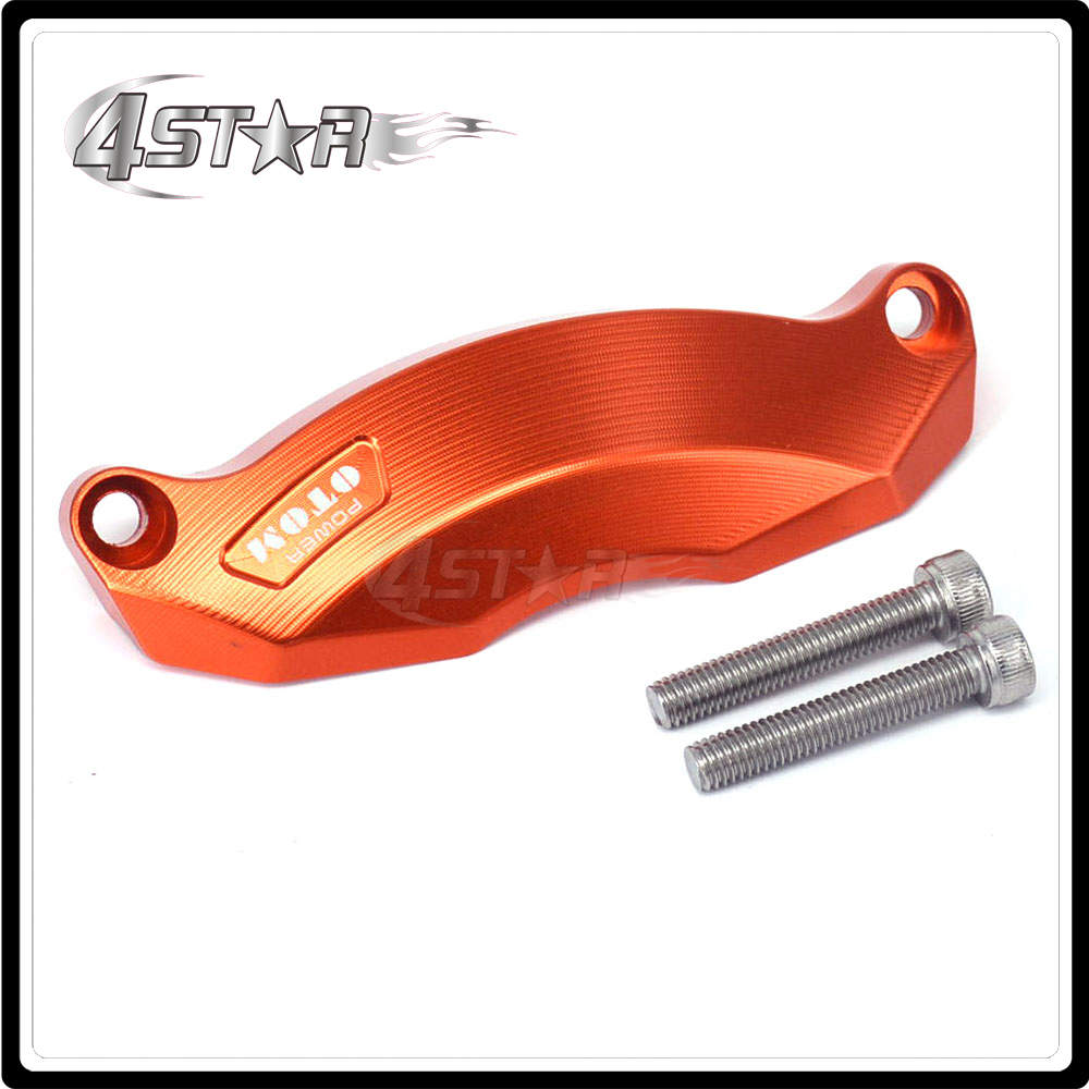 CNC Clutch Cover Guard For ZS177MM ZONGSHEN Engine NC250 KAYO T6 BSE RX3 J5 ZS250GY-3 4 Valves Parts starpad for zongshen 200gy 2 shell zongshen 200gy 2 side cover nakedness desert flying fox side cover housing