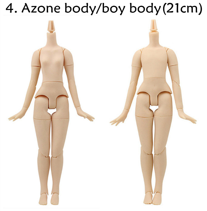 Azone Factory S Size Full Action White Skin special Body For Custom Blythe