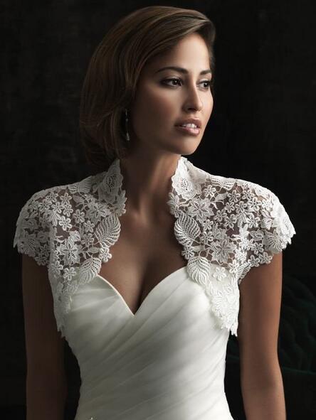 Caliente venta corta chaqueta Bolero fiesta vestidos novia