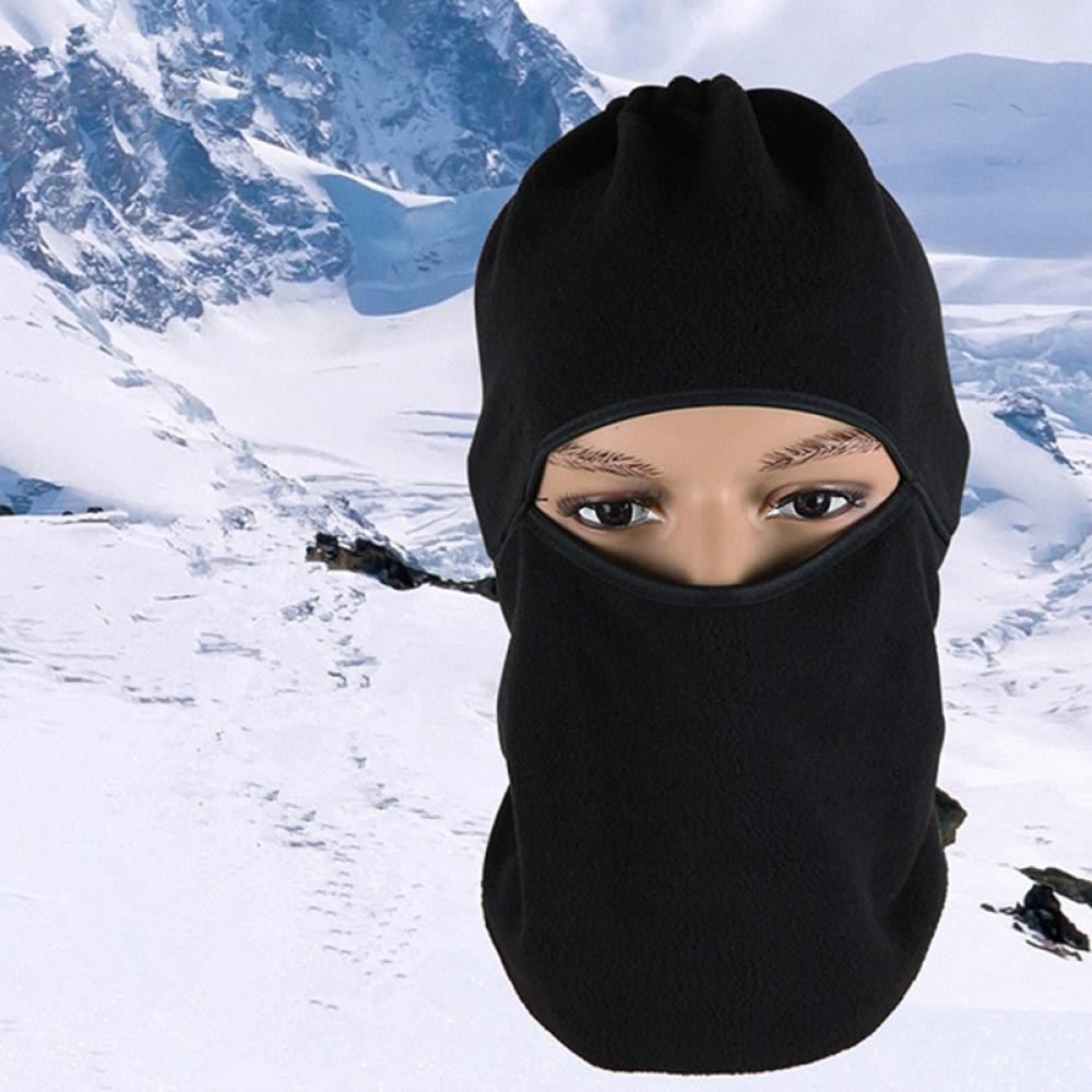 Full face mask neck warmer hood balaclava outdoor winter sports hats - 2016 Hot Fashion Women Men Ski Sports Full Face Mask Cover Hat Motorcycle Thermal Fleece Balaclava