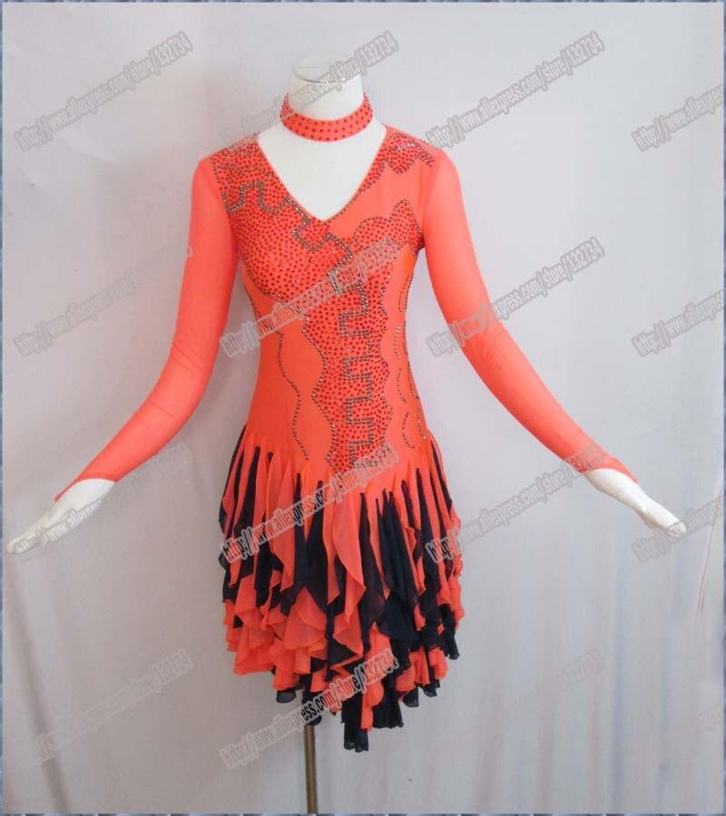 Twinkle nadaljevanke Novo Latinsko plesno obleko Profesionalna - Odrska in plesna oblačila