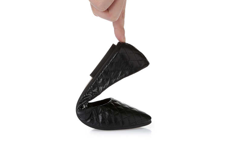 2018 Yeni Gelenler Kare Ayakkabı Marka Kadın Dans Flats Rahat Slip-on Siyah Beyaz Gri Büyük Boy 10 9 8 Ephemeral Bahar
