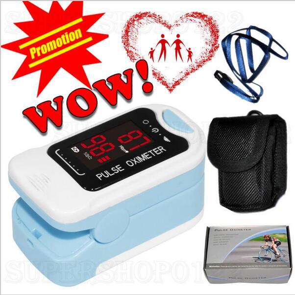 CONTEC CMS50M New Fingertip Pulse Oximeter Blood Oxygen Saturation SPO2 Heart Rate Monito