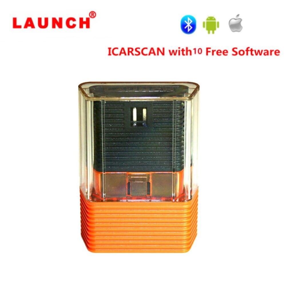 Mais novo LANÇAMENTO ICARSCAN com Software Livre 10 ICAR SCAN X431 IDIAG Easydiag Vpecker m-lite diag para Android/ IOS Atualização Online
