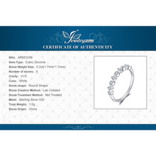 Classic Weddig Band Ring For Women Real 925 Sterling Silver Fashion Jewelry Gift For Friends