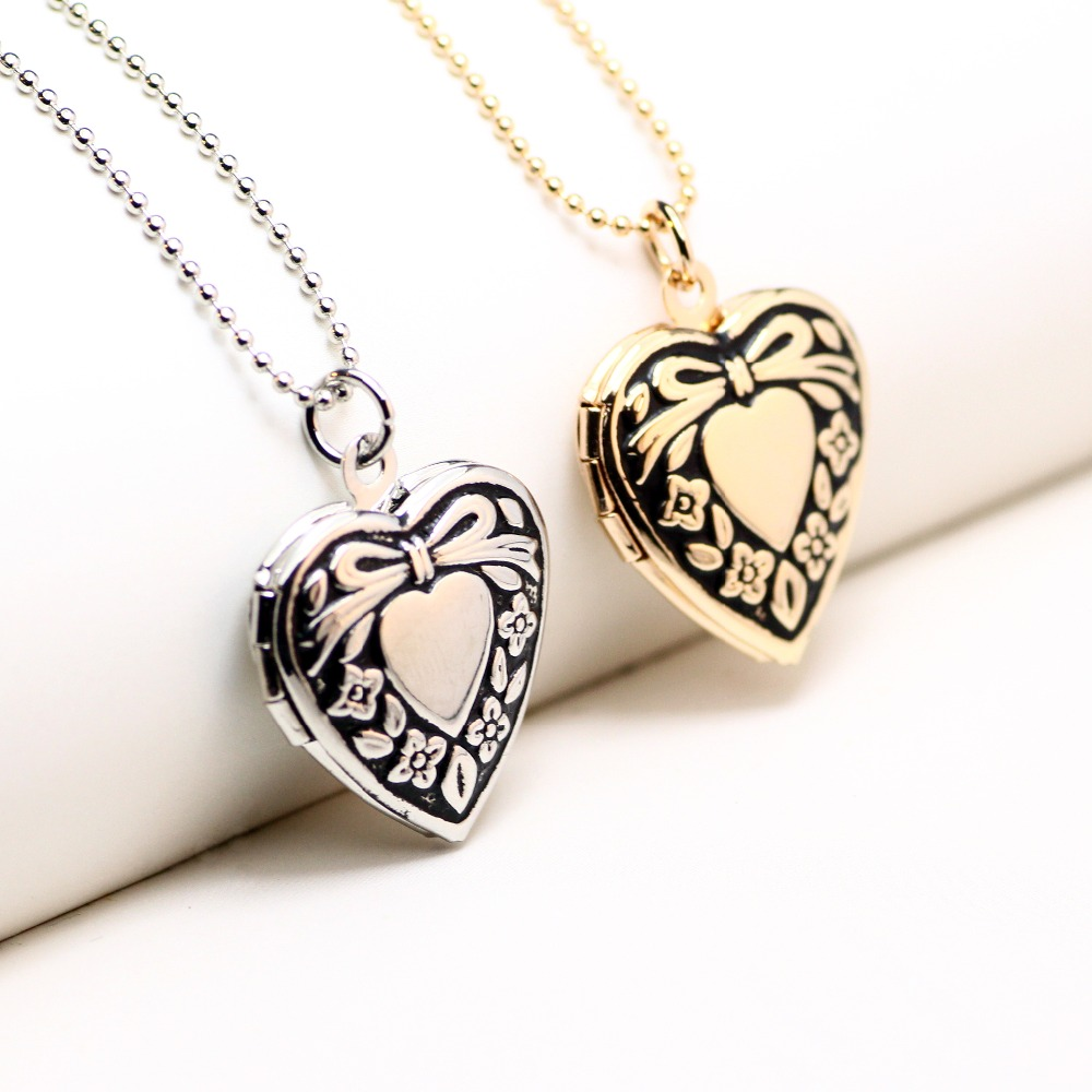 Jenia flower pattern carved frame pendant photo pictures locket jenia flower pattern carved frame pendant photo pictures locket pendant necklace gold color an95 in pendants from jewelry accessories on aliexpress aloadofball Choice Image