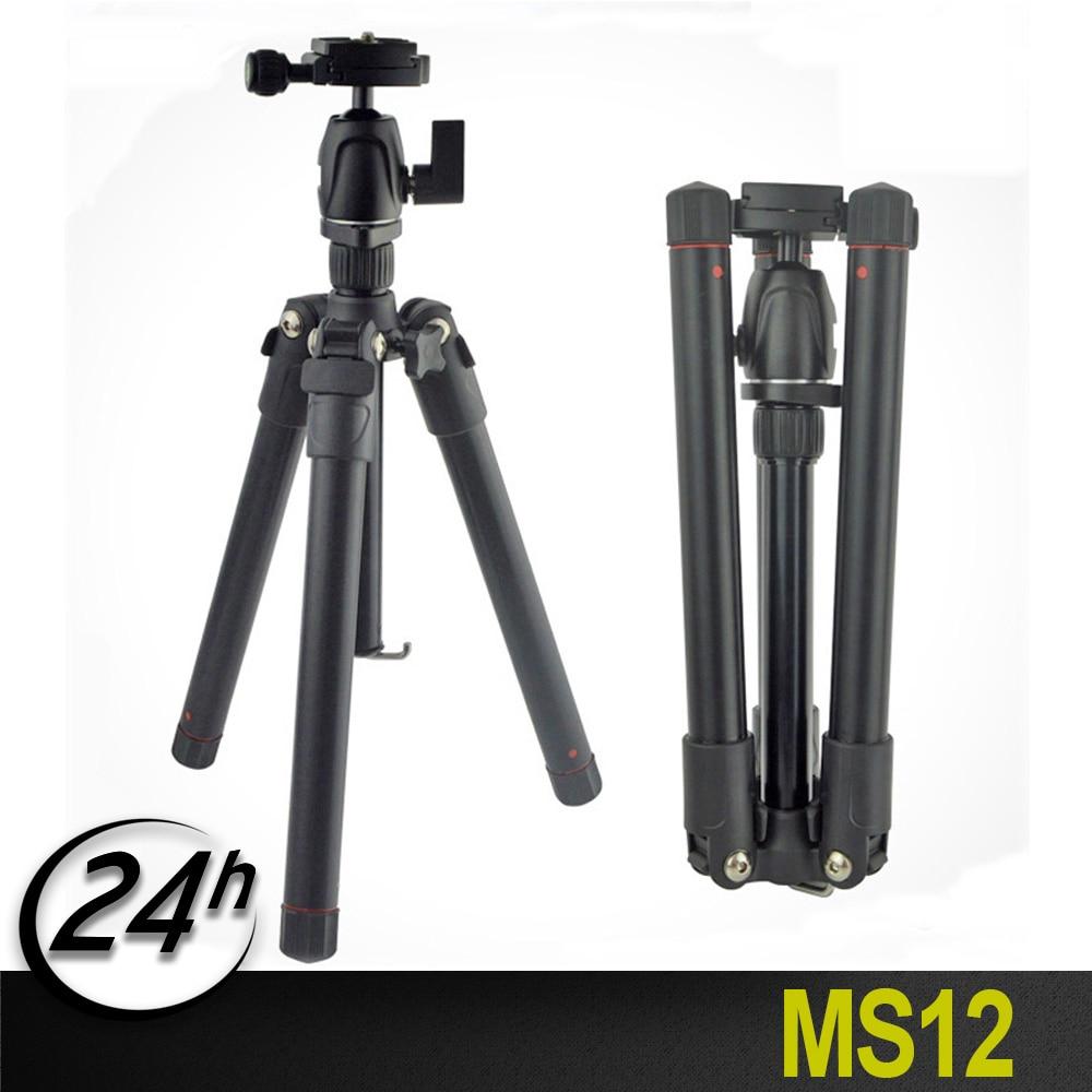 Origianal poids léger Portable professionnel voyage caméra trépied monopode aluminium rotule compacte pour appareil photo reflex numérique DSLR