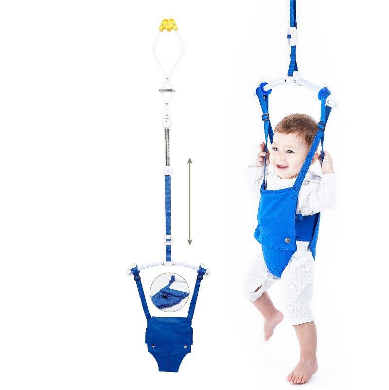 Bébé pull exerce-ur avec pince de porte bébé exerce-ur pour les bébés actifs qui aiment sauter et s'amuser bébé balançoire hamac siège