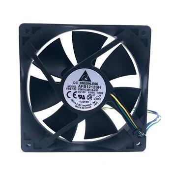 120mm fan AFB1212SH 12CM1225 12025 12 * 12 * 2.5CM 120 * 120 * 25MM 12V 0.80A Cooling Fan Good Quality