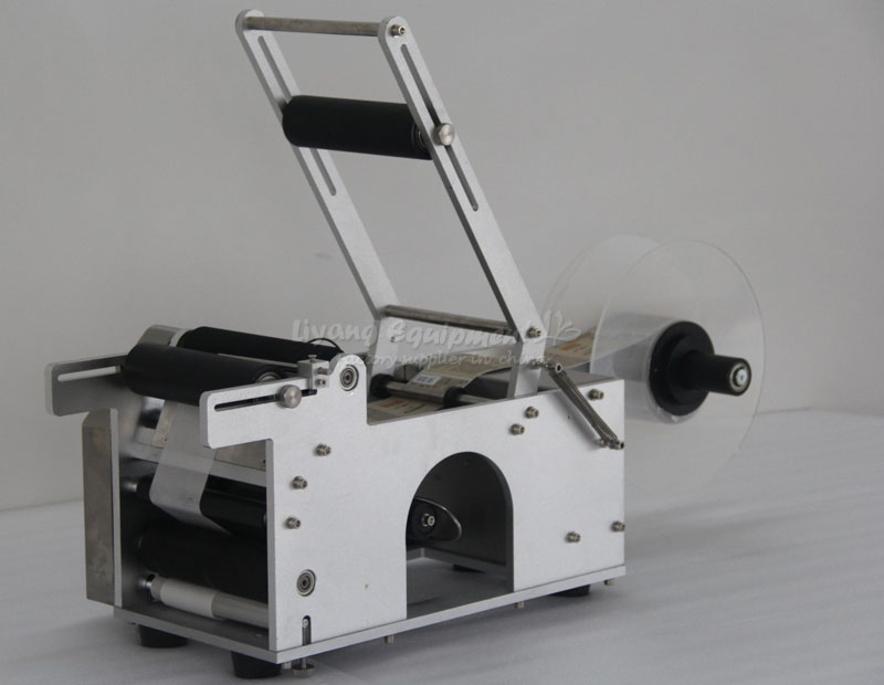 RU EU free tax semi auto label Sticker labeling machine Q10001 ru eu no tax automatic lt 60 plane self adhesive label machine
