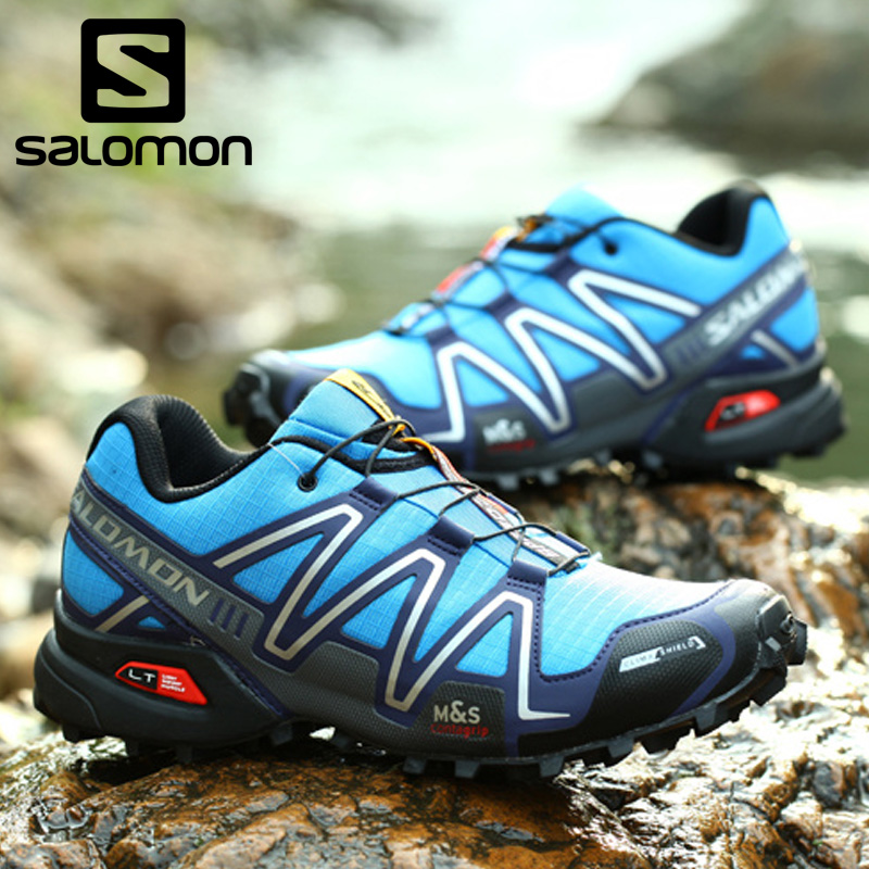 2018 Salomon Speed Cross 3 CS Speedcross anti-slip running Sneakers for men Outdoor cool light Shoes Run breathable Eur 40-46