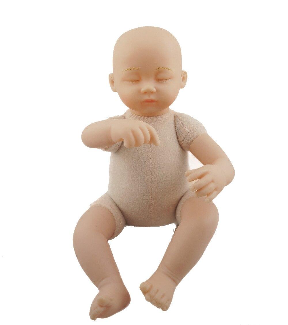 코젯 16 인치 비닐 인형 옷없이 아기 인형 바디 클로즈드 아이 베이비 인형 이동식 다리 팔