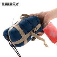 REEBOW TACTICAL Autumn Outdoor Camping Sleeping Bag Ultra Light Portable Travel Thermal Envelope Sleeping Bag Hiking
