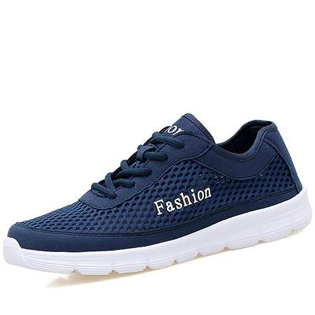 2017 Men Women Sneakers Breathable Sport Shoes Male Female Running Shoes Light Sneakers For Large Size 35-48 Shoes