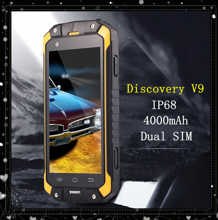 Outdoor GuoPhone V9 IP68 waterproof shockproof phone MTK6572 mobile phone Android 4 4 4 5 GuoPhone