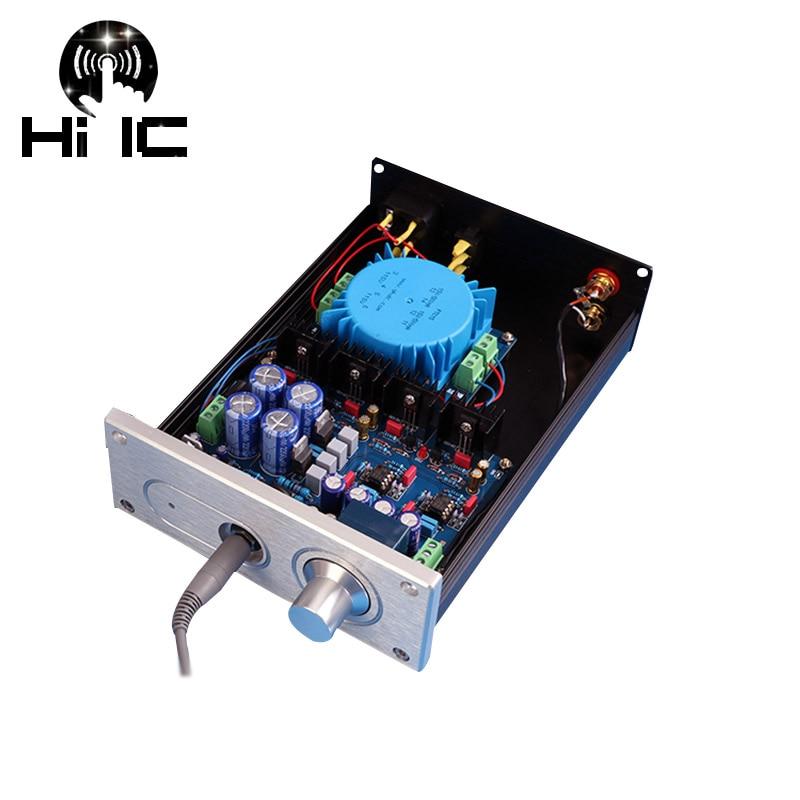 HIFI A1 Headphone Amplifier AMP Machine Finished Dual 15 18V Reference Beyerdynamic A1 Headphone Audio Amplifier