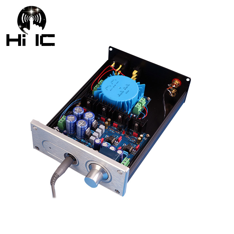 HIFI A1 Headphone Amplifier AMP Machine Finished Dual 15 18V Reference Beyerdynamic A1 Headphone Audio Amplifier-in Headphone Amplifier from Consumer Electronics    1