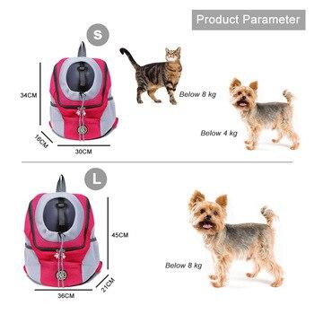 Pet Cat Dog Front Backpack Carrier Travel Bag  4