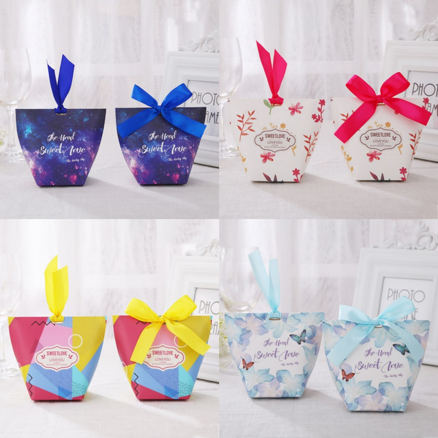 50 X European Style Sweet Love Wedding Favors Candy Box Bomboniera ...