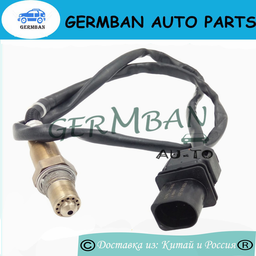 цена New Manufactured 0258017025 Lambda O2 Exhaust Gas Oxygen Sensor For V W Skoda Audi LSU 4.9 Wire Band OE#0 258 017 025