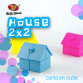 2016 New Style Yongjun(YJ) 2x2x2 House Cube Professional Magic Cube Learning&Educational  Magic Toys Special Toys  No box