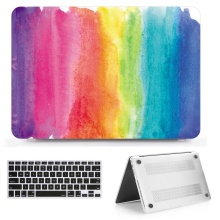 New Printing Laptop Hard Case Shell + Keyborad Cover Skin For Apple Macbook Air11 13 Pro Retina Touch Bar 11 12 13 15 inch