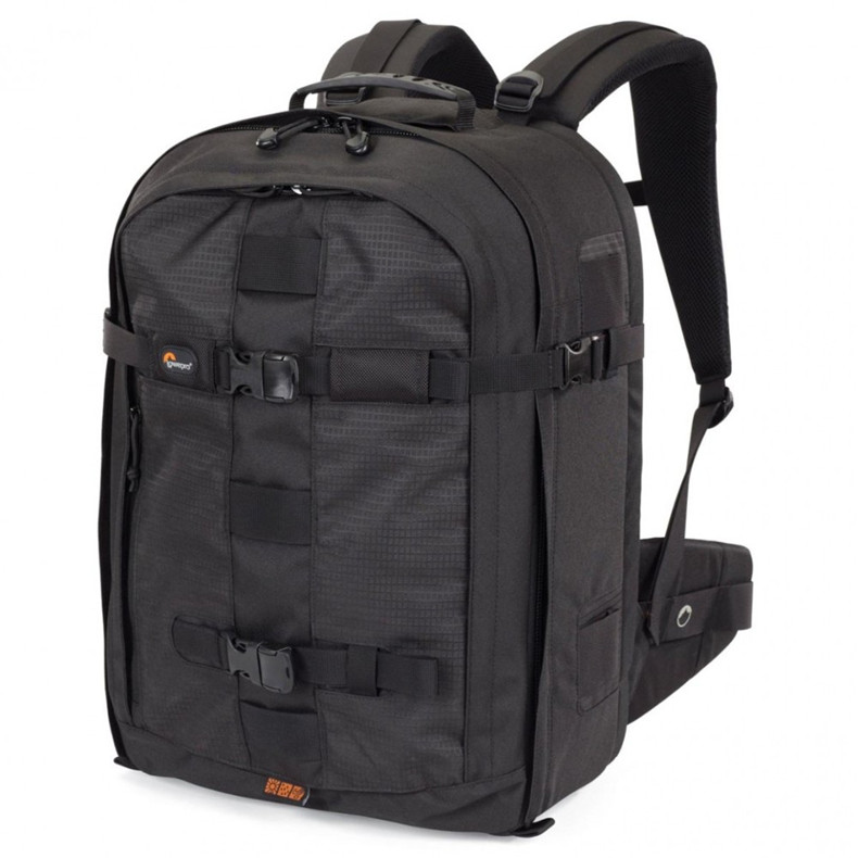 Lowepro Genuine Pro Runner 450 AW Urban-inspired Photo Camera Bag Digital SLR Laptop 17 Backpack For Photojournalists