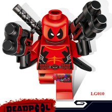 1PCS model building blocks action figure starwars superheroes deadpool house classic party games diy toys for children gift(China)