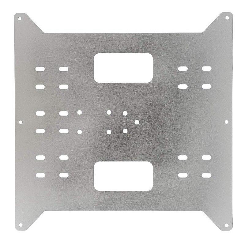 HOT-Y осевая каретка Замена обновленная алюминиевая пластина для производителя выбор, Wanhao Дубликатор I3 и Anycubic I3 Мега 3D принтер