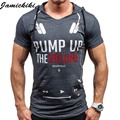 2016 Hip Hop Fashion Men's Hoody t shirts Male Play Music Printed Short Sleeve Fitness t-shirt Hombre Pullover Streetwear TopTee