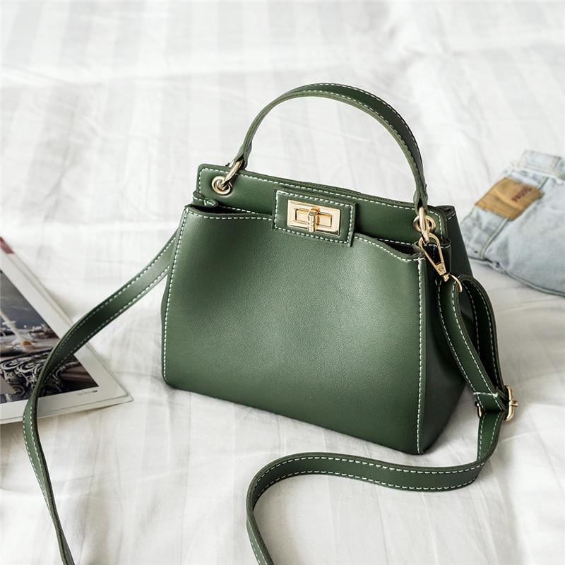 14a0b83301 2018 Winter spring Fashion Women Peekaboo Bags Handbags Ladies Messenger Bag  Crossbody Bag Designer Tote Bag Bolsos Mujer De Sac-in Shoulder Bags from  ...