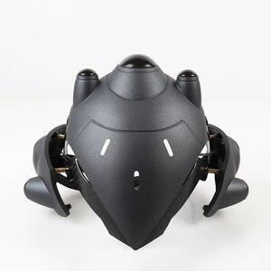 Image 4 - Avec LED respiratoire!!! Deux Mode!!! Casque de veuf pour Cosplay masque de veuf avec lentille France casque de joueur accessoires de Costume