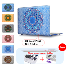 Floral Oriental Pattern Laptop backpack Sleeve Protective Cover For Apple Laptop Macbook  air pro 13 Notebook Bag Case