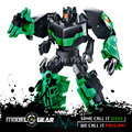 WeiJiang WEI JIANG TF Cartoon Green Color Movie Version Plastic Deformation Hornet Robot Transformation Action Figure Toys