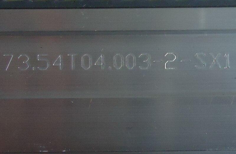 2-Светодиодная лампа 6030PKG 40EA 73.54t04003-2-SX1 экран T546HB01 1 шт. = 40LED 353 мм смотреть на Алиэкспресс Иркутск в рублях