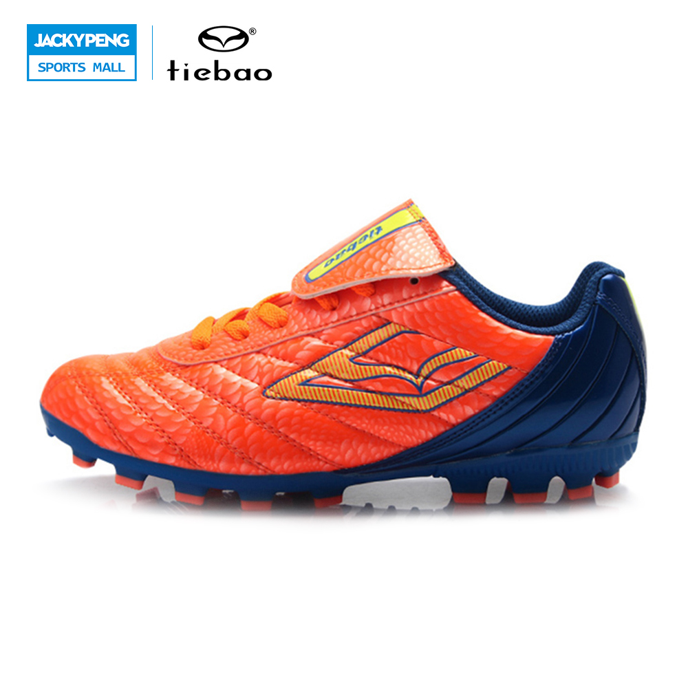 TIEBA Professional Kids' Indoor Football Boots Breathable FG & HG & AG & S Soles Boys Rils Training Racing Soccer Boots Sneakers rils w15070331635
