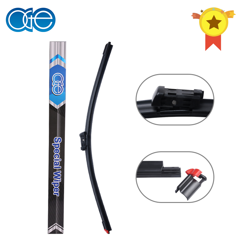 Oge 14''-32'' Windscreen Wiper Blades Fit 16mm Push Tab Wiper Arm, Replace Rubber Refill Easy цена
