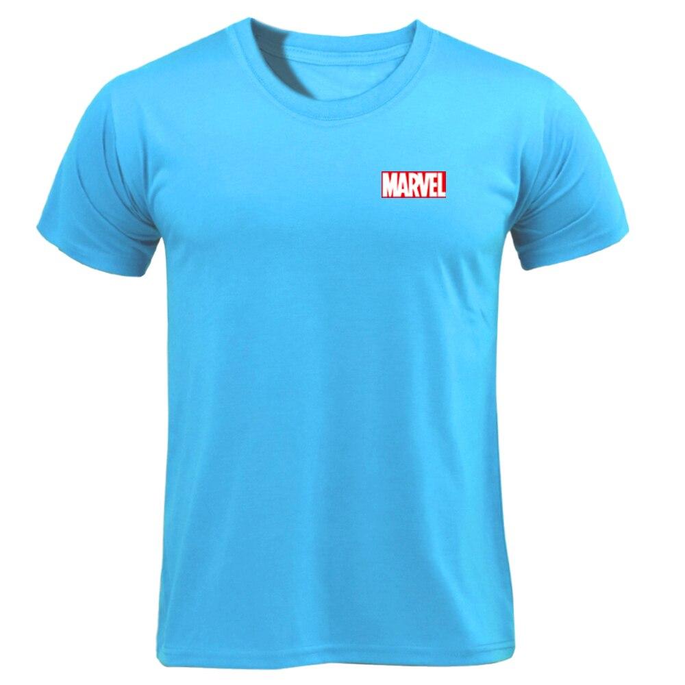 MARVEL T-Shirt 2019 New Fashion Men Cotton Short Sleeves Casual Male Tshirt Marvel T Shirts Men Women Tops Tees Boyfriend Gift 67