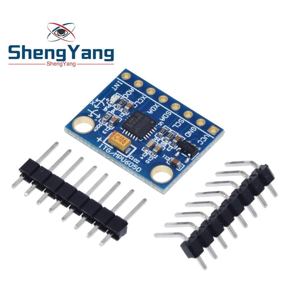 accéléromètre pour montage arduino Module GY-521 MPU-6050 Module gyroscope